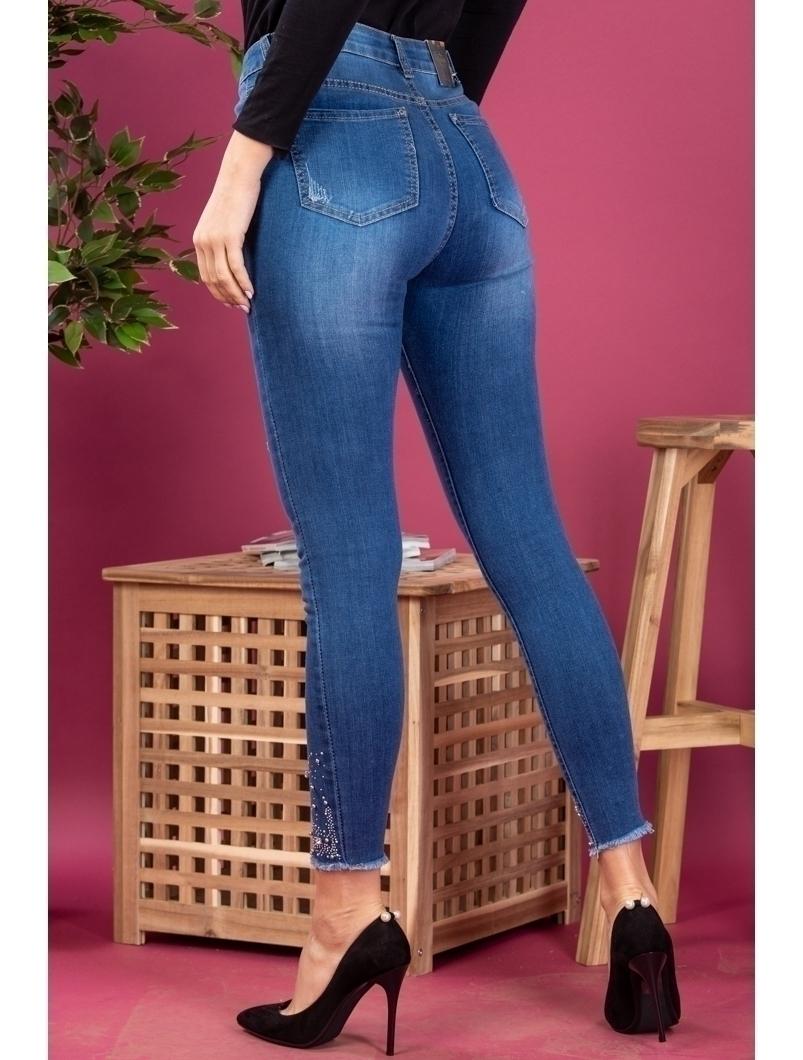Blugi Dama BowdenJeans Bleumarin
