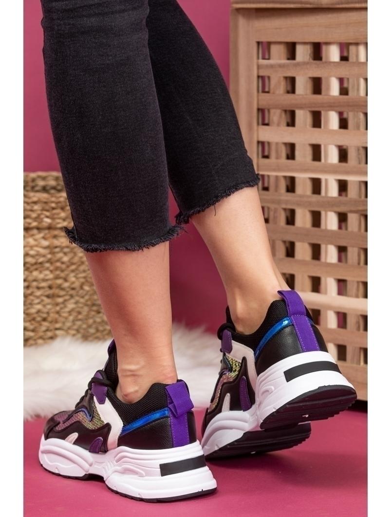 Adidasi Dama Voguette Negru