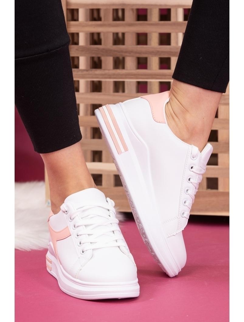 Adidasi Dama SportStar One Alb si Roz