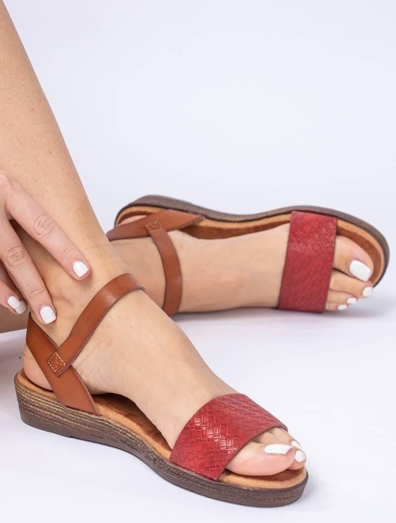 Sandale Dama Saryss Rosu