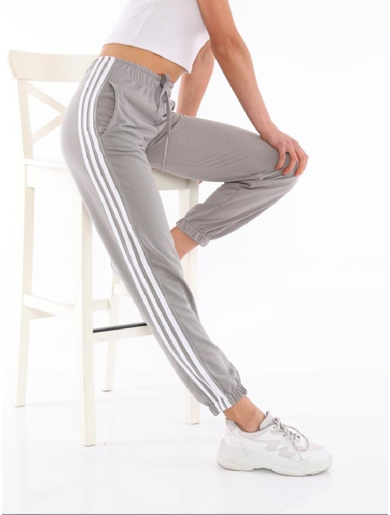 Pantaloni Dama ThreeStripes Gri