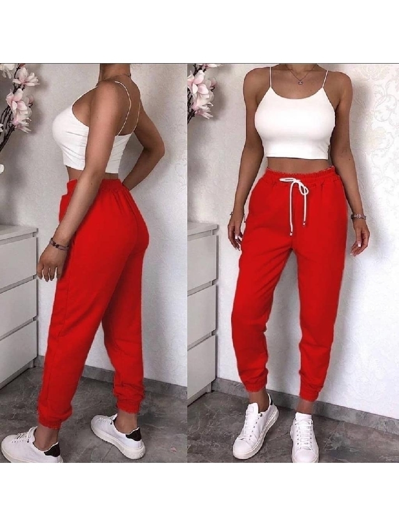 Pantaloni Dama Tressy One Rosu