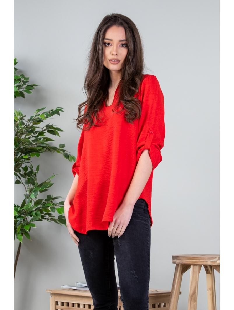 Bluza Dama Shertenly Rosu
