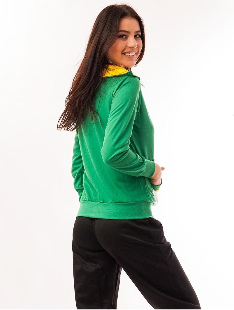 Bluza Dama Sport Cu Un Buzunar After Verde