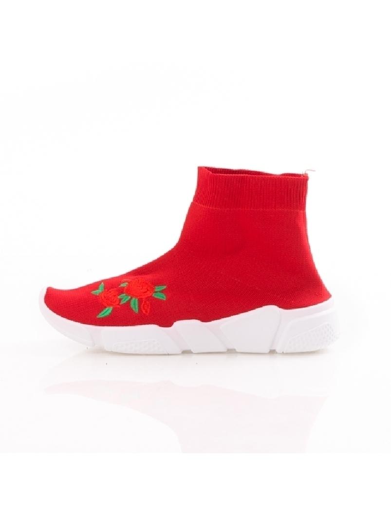 Sneakers Dama FreshRose Rosu