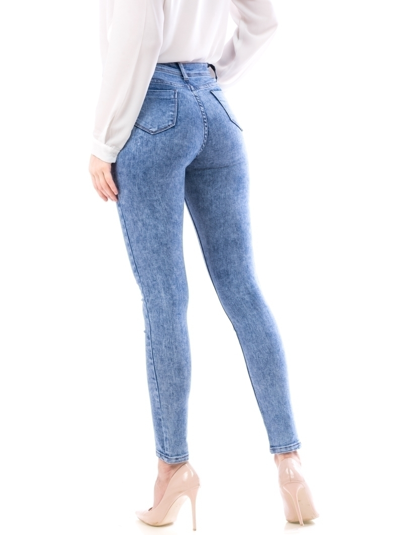 Jeans Dama Ljk100 Bleu