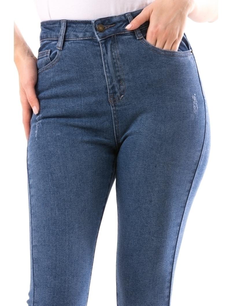 Jeans Dama GirlSwag Albastru