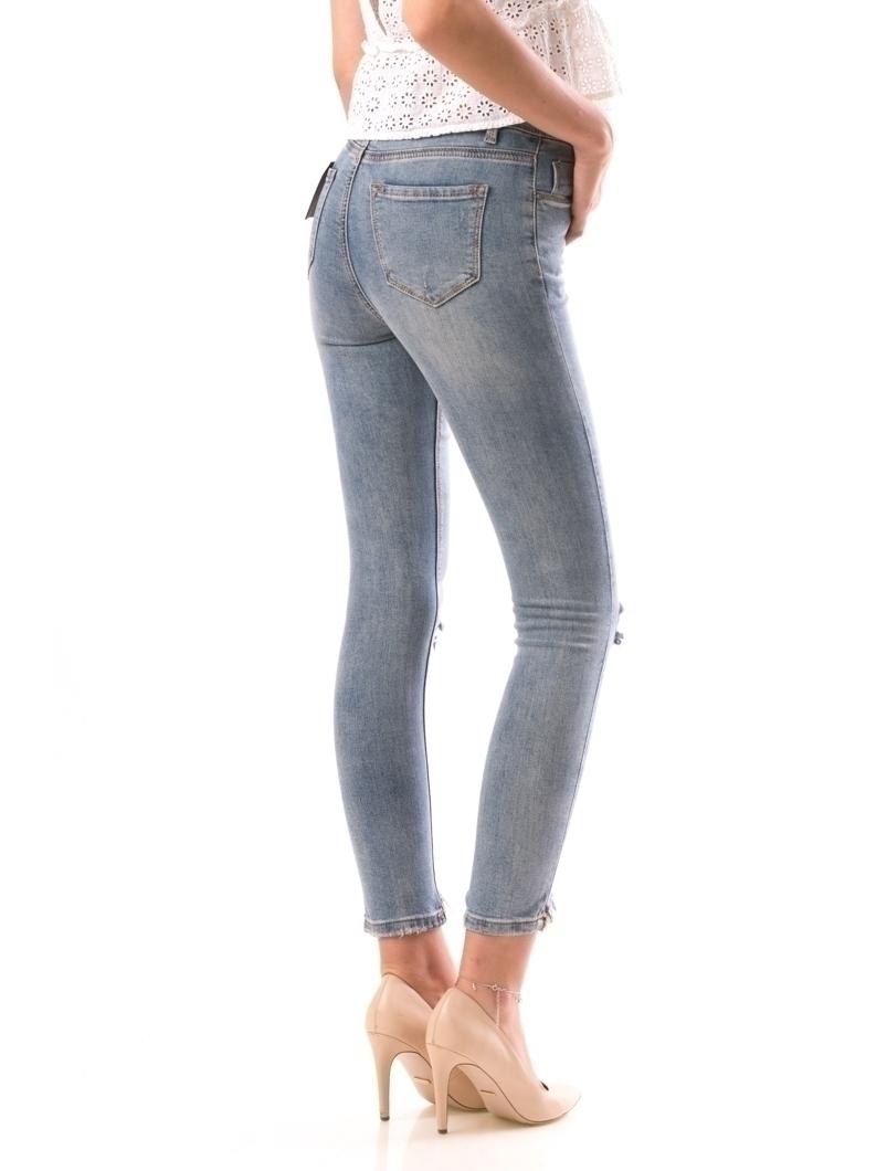 Jeans Dama HalfWash Albastru