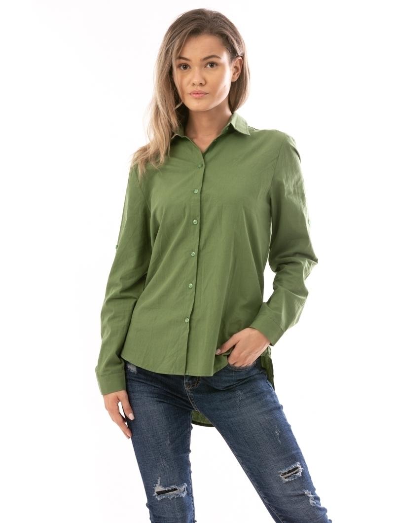 Camasa Dama SevenDays Verde Si Negru