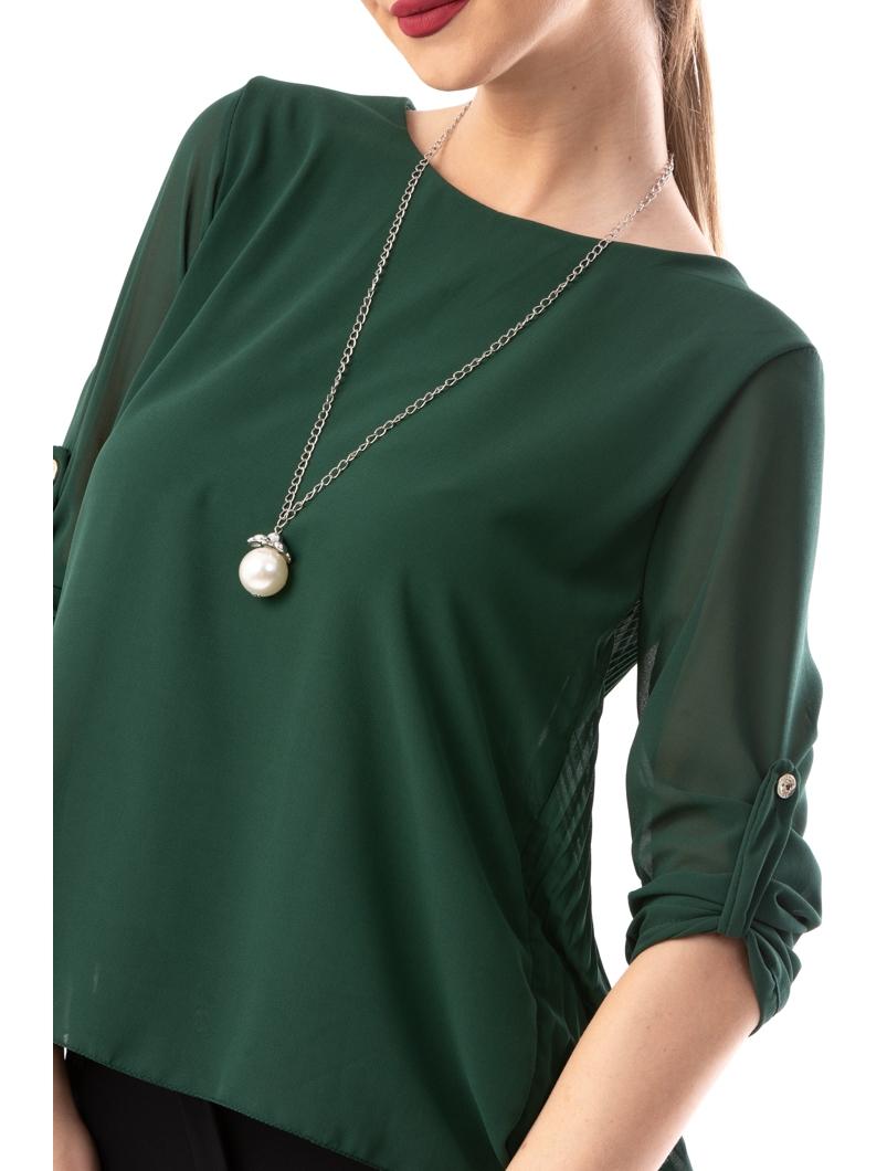 Bluza Dama VeilwithNecklace Verde