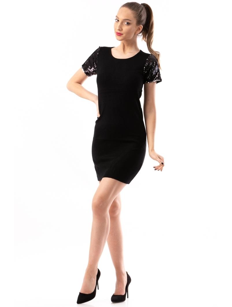 Rochie Dama ShortStarSequins Negru