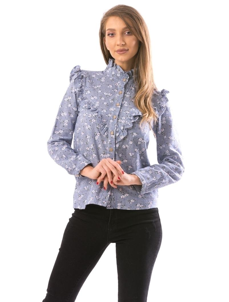 Camasa Dama SmallFlow Bleu