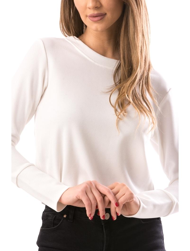 Bluza Dama WhiteLong Alb