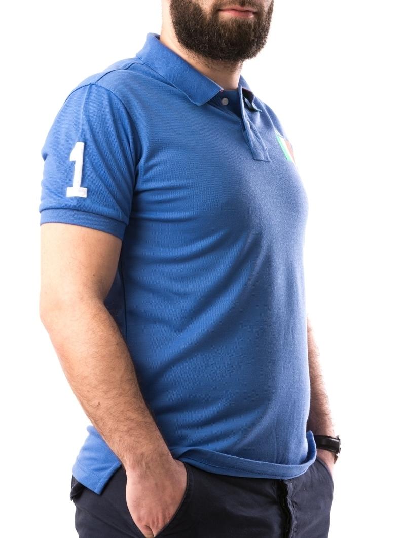 Tricou Barbatesc AlexinioOne Albastru