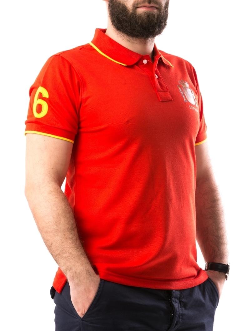 Tricou Barbatesc ElAlejandro Rosu