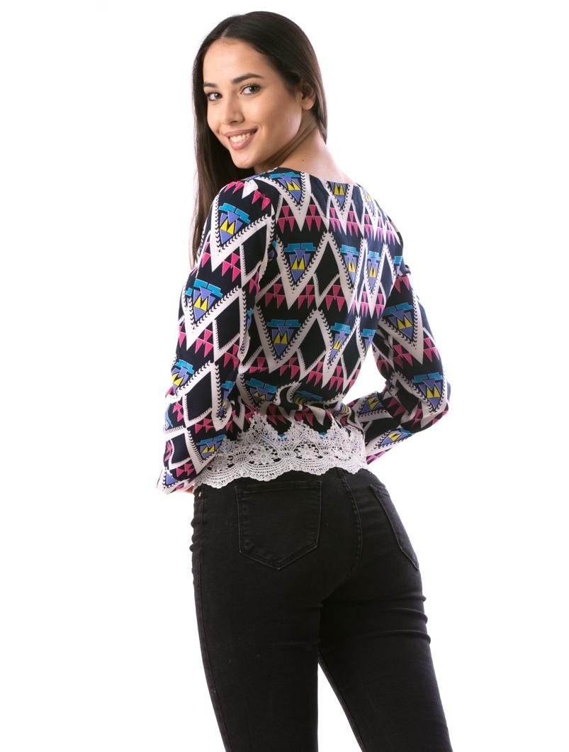 Bluza Dama KyLy110 Bleumarin