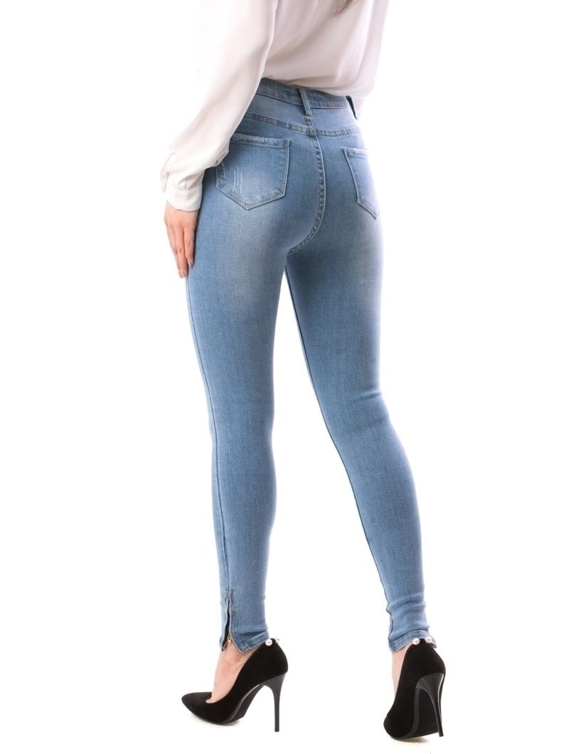Jeans Dama Nano888 Bleumarin