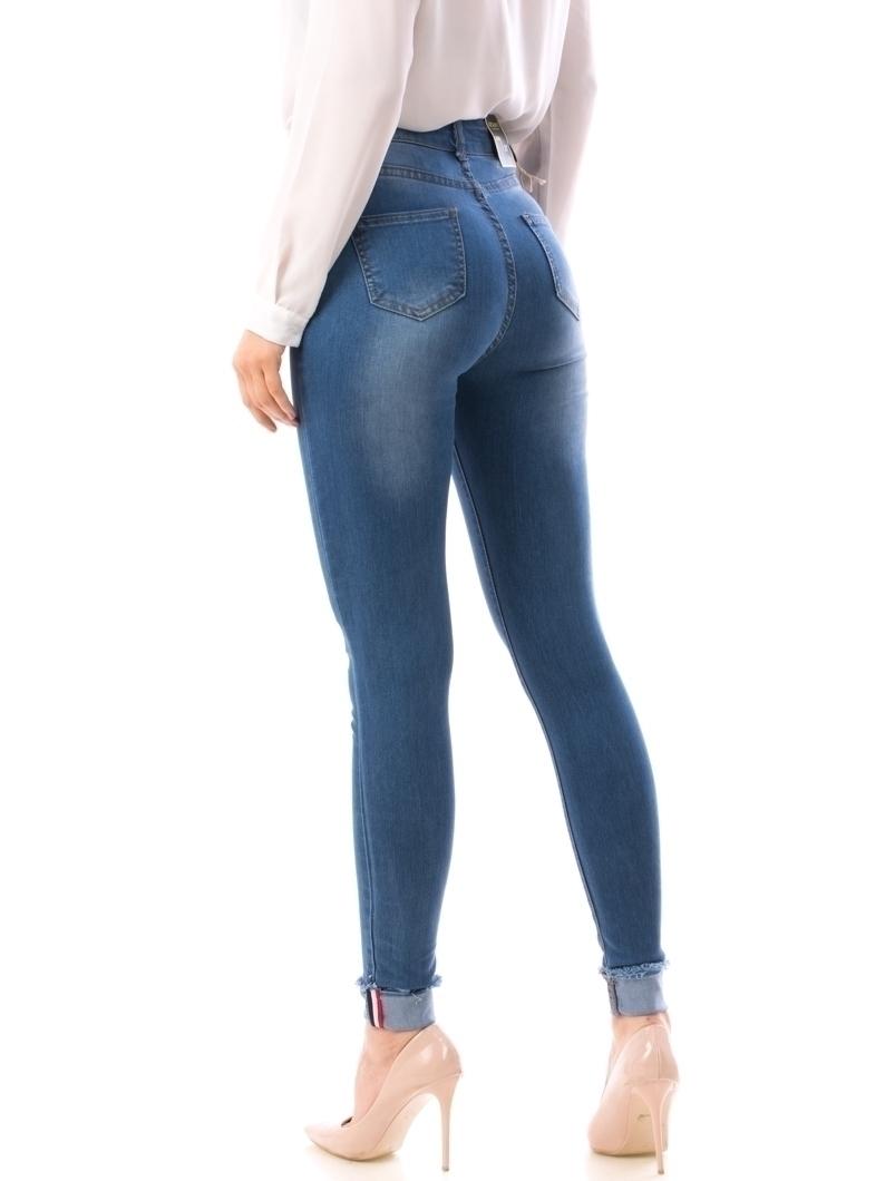 Jeans Dama MZ10 Bleumarin
