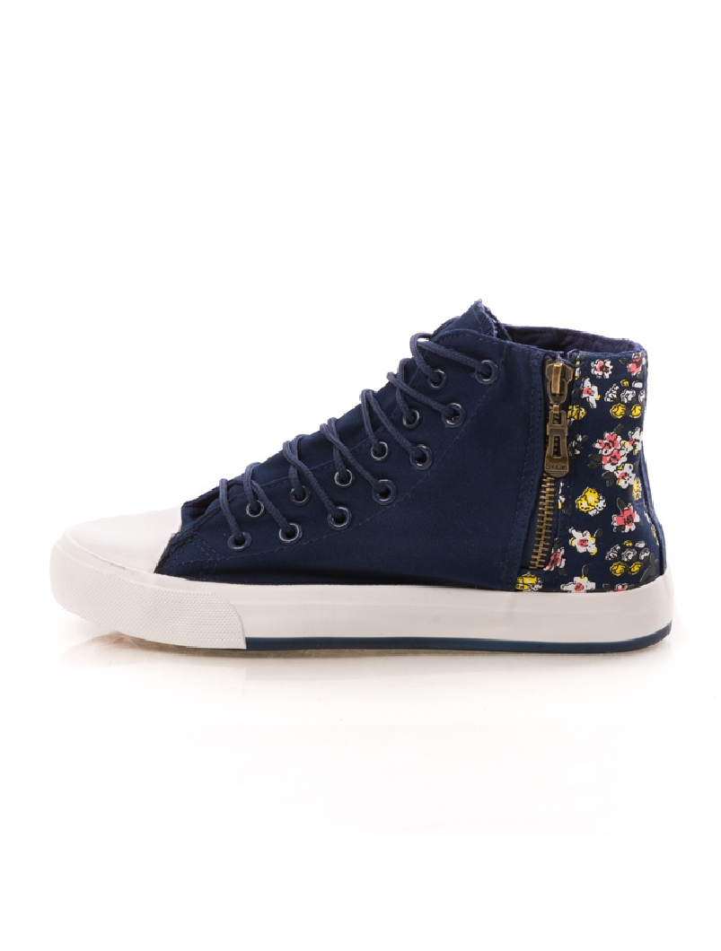 Bascheti FlowerBack Bleumarin