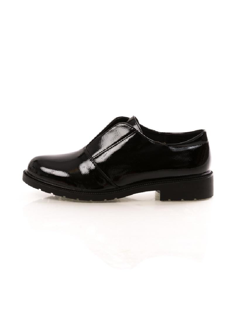 Pantofi Dama GlossyStep Negru