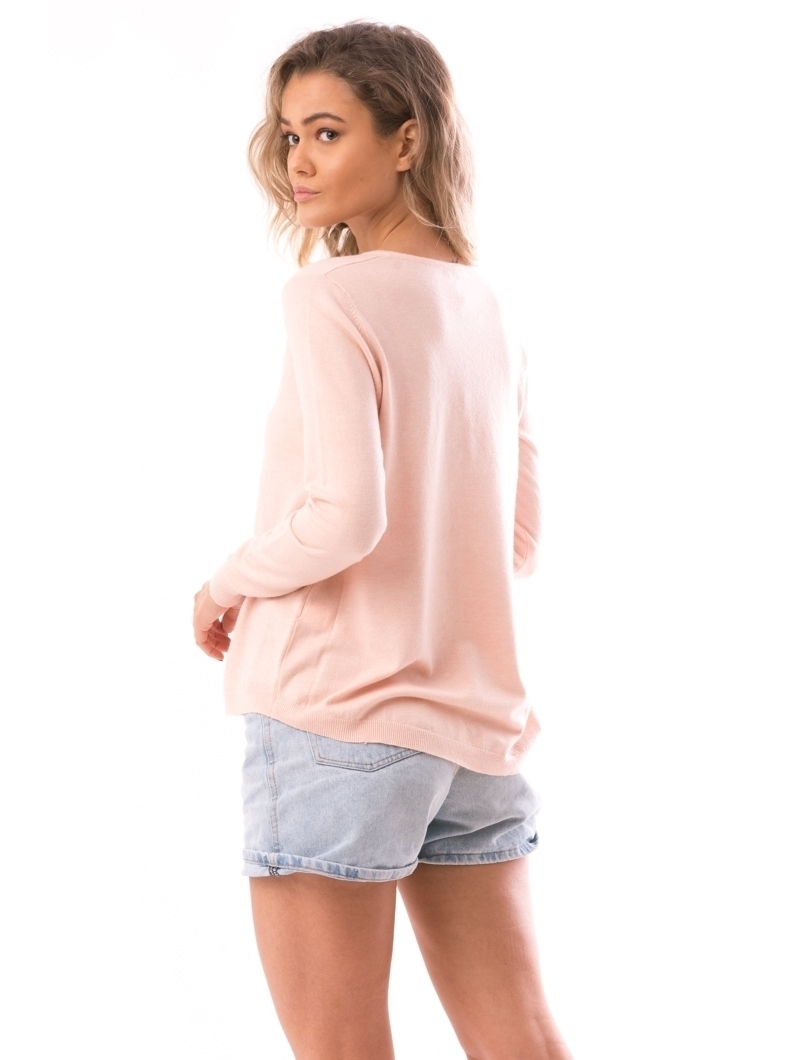 Pulover Dama SoftHeart Roz