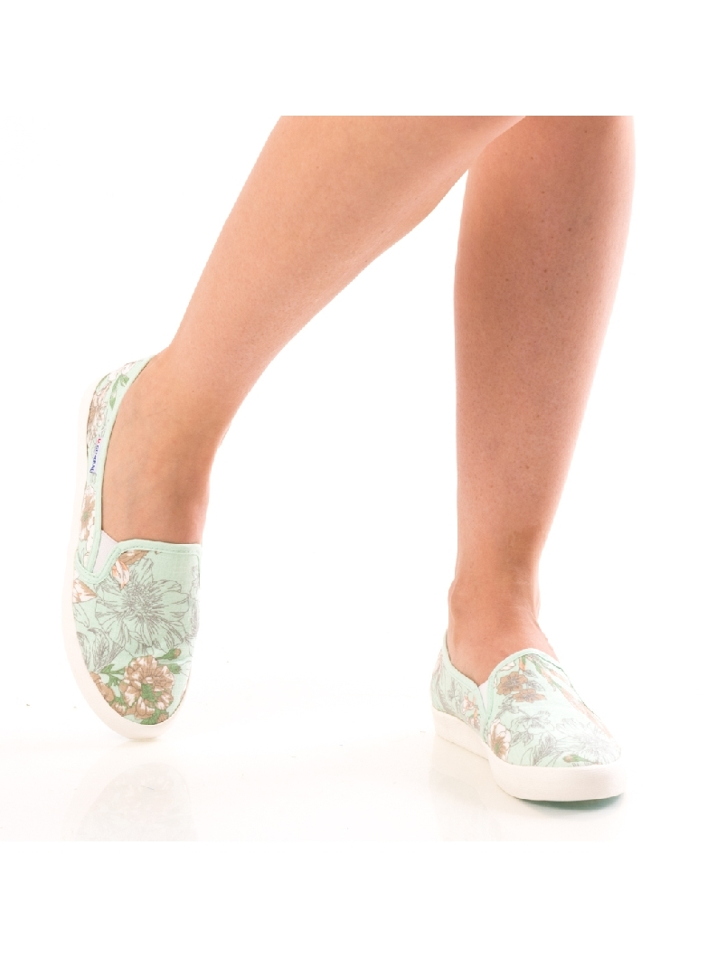 Espadrile Dama JoyFlowers12 Vernil