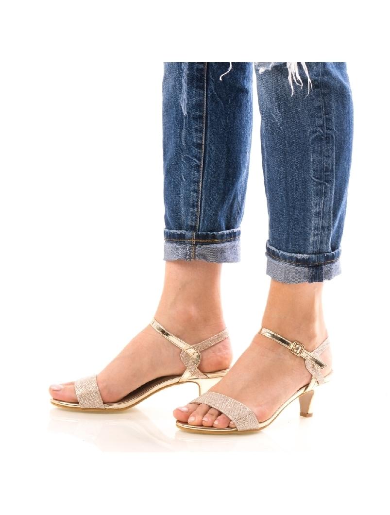 Sandale Dama GloryOne Bej