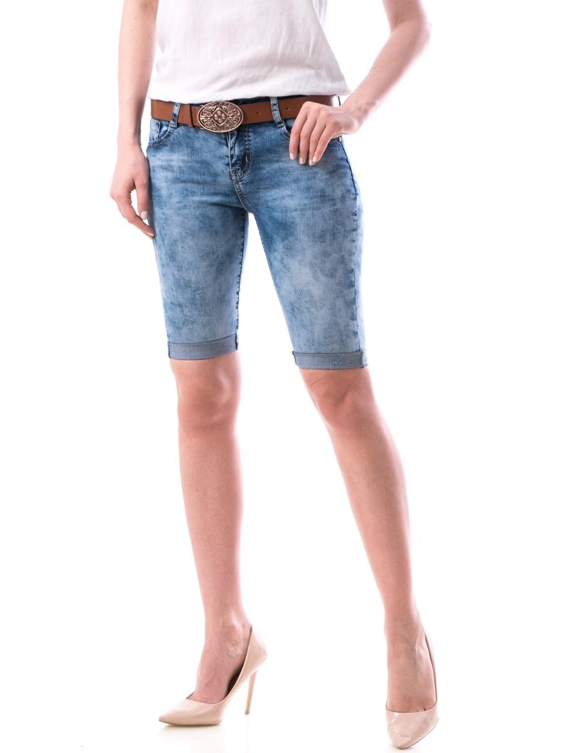 Jeans Dama Scurti Xavy Bleumarin