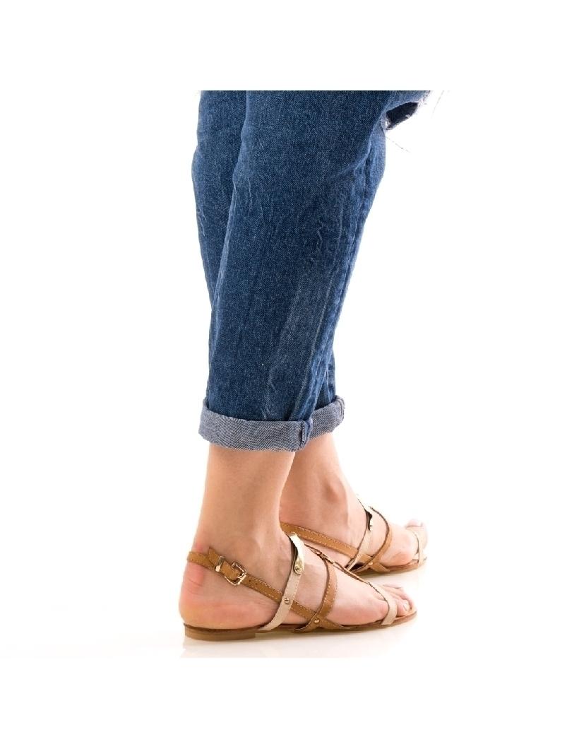 Sandale Dama GoldyLine Bej