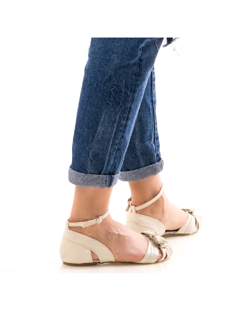 Sandale Dama FrontSheat Alb