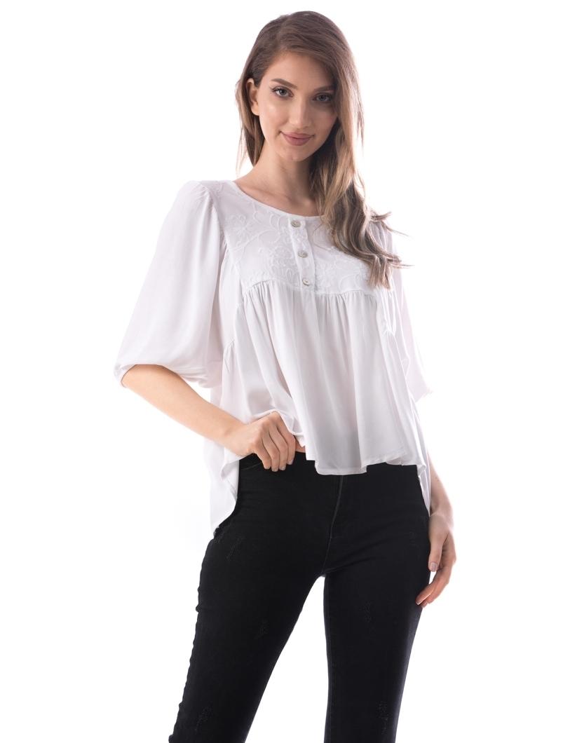 Bluza Dama Bsnm176 Alb