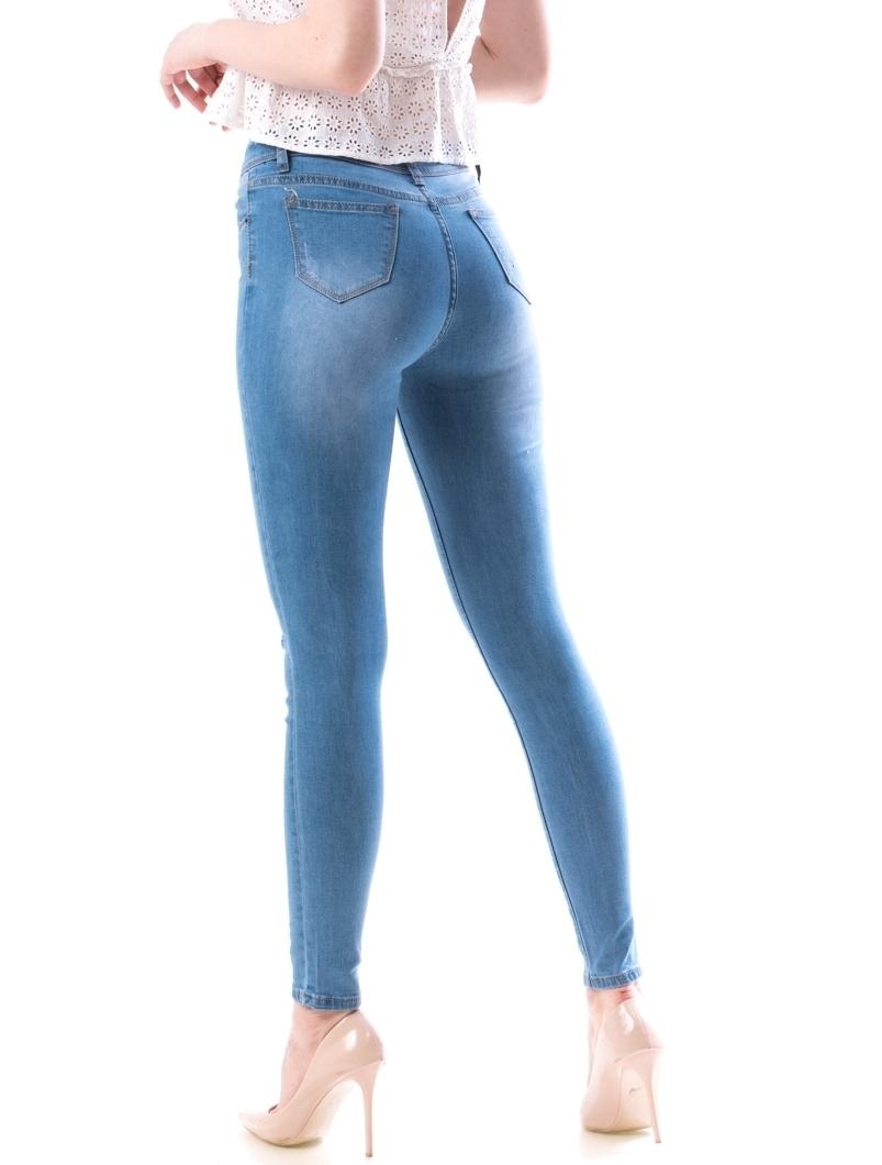 Jeans Dama Kjk776 Bleu