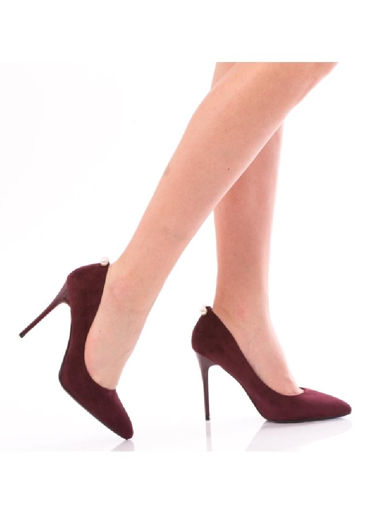 Pantofi Dama WhitePearl Bordo