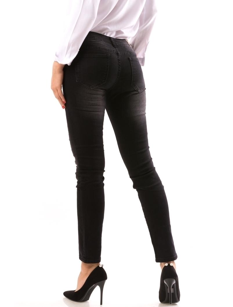Jeans Dama AplyToMe Negru