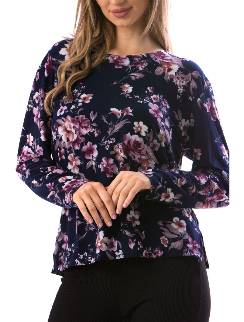 Bluza Dama CarryFlower18 Bleumarin