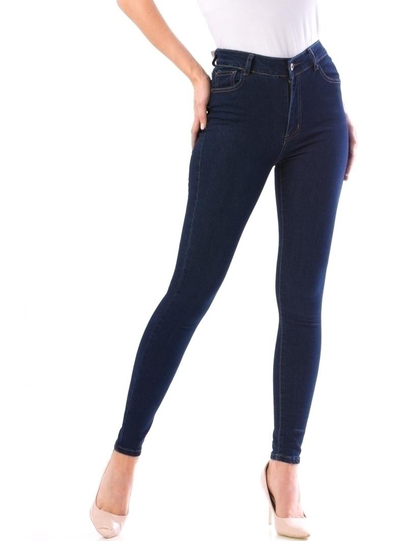 Jeans Dama Bgbd10 Albastru