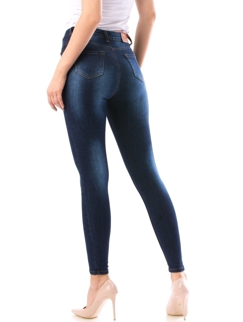 Jeans Dama Prtty21 Bleumarin
