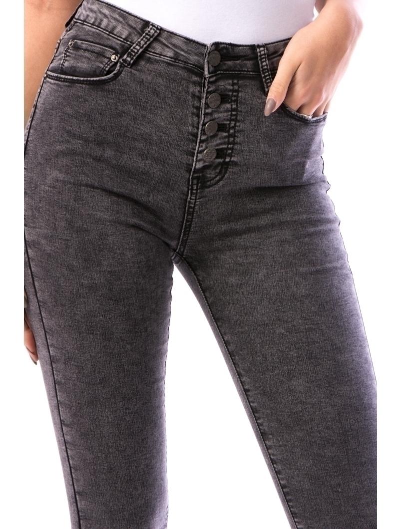 Jeans Dama Shjty67 Gri