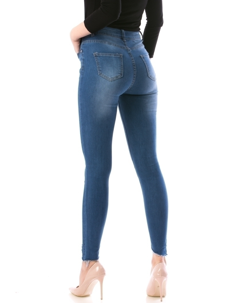 Jeans Dama Tna58 Bleumarin