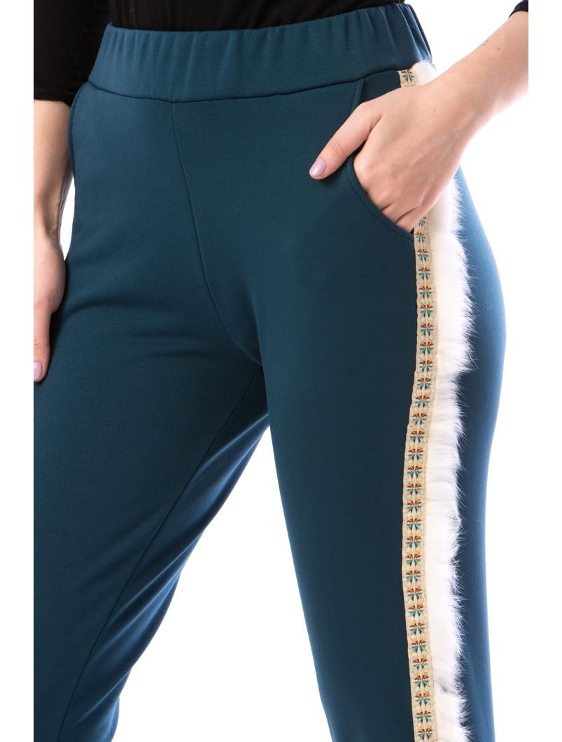 Pantaloni Dama FridayWear14 Turcoaz