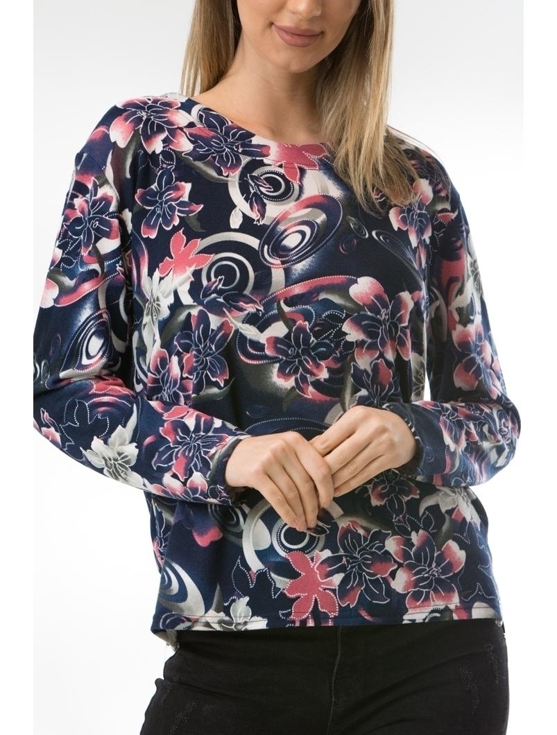 Bluza Dama CollarSimple40 Bleumarin
