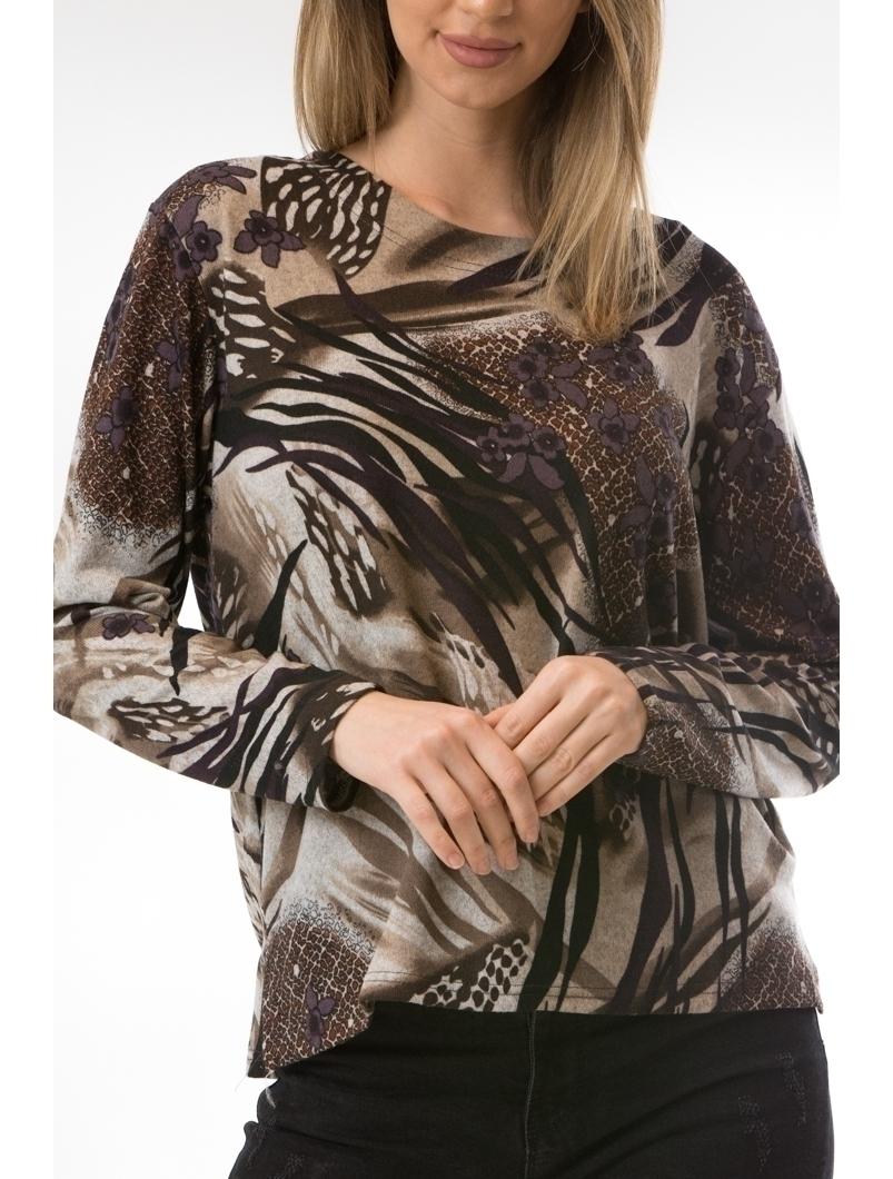 Bluza Dama CollarSimple40 Maro
