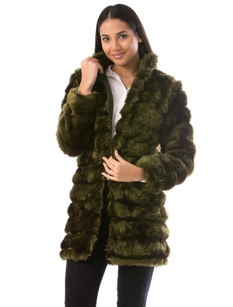 Cardigan Dama LuxurySoft24 Kaki