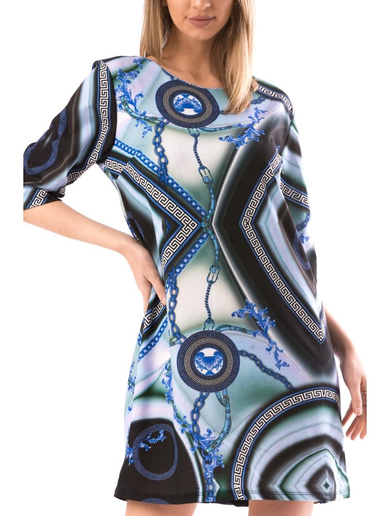 Rochie Dama Exventy20 Albastru