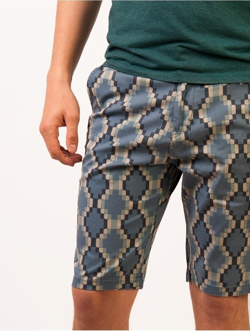 Pantaloni Scurti Barbatesti Walk The Line Albastri