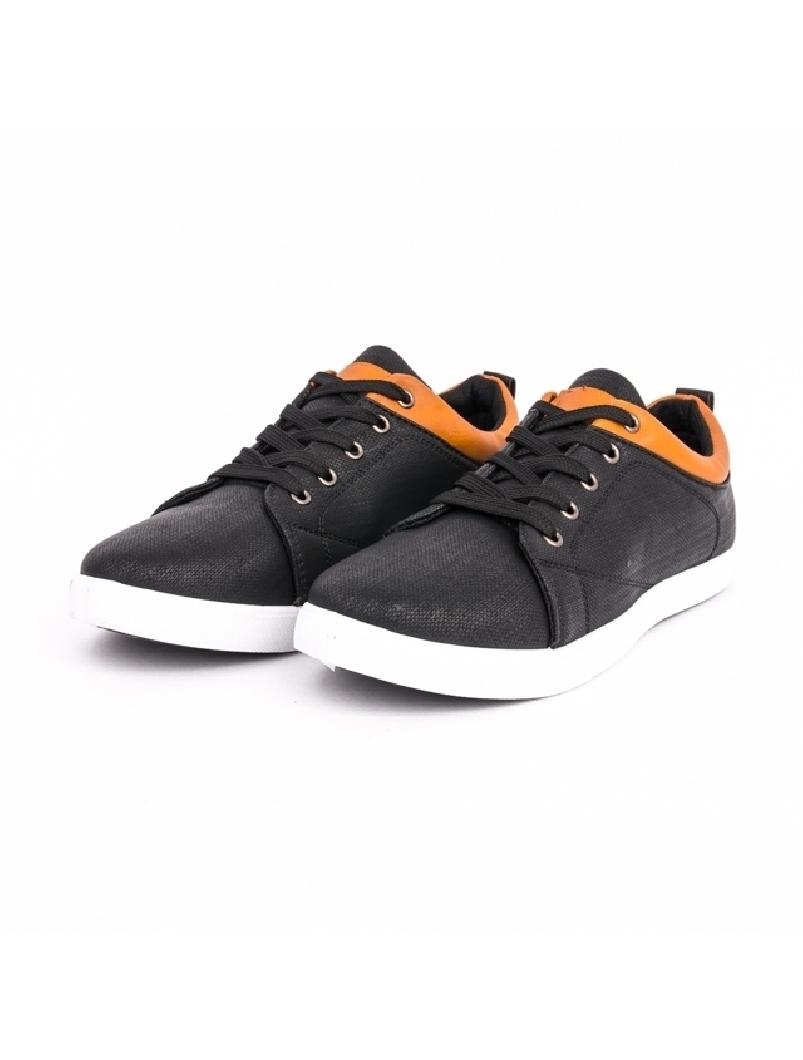 Pantofi Barbati Cu Siret FutureSport Negru