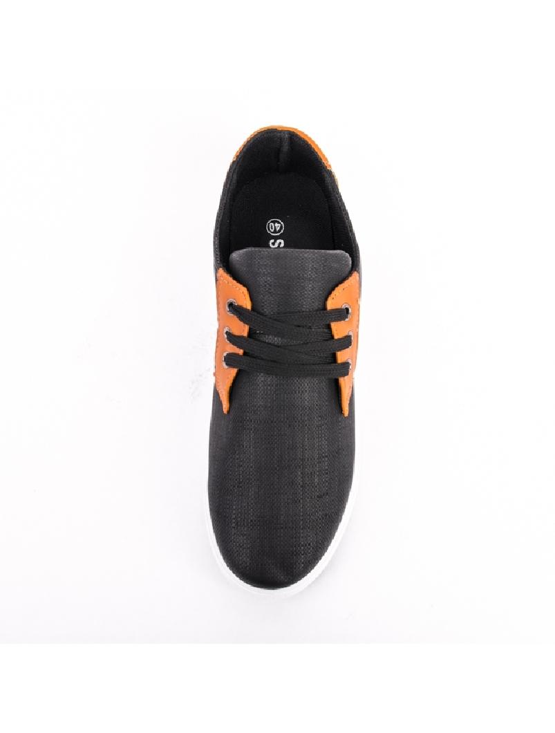 Pantofi Barbati Cu Siret FutureOne Negru