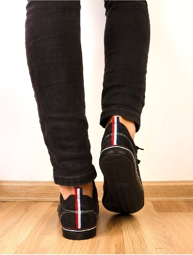 Pantofi Barbati Sport Cu Siret Midnight Negri