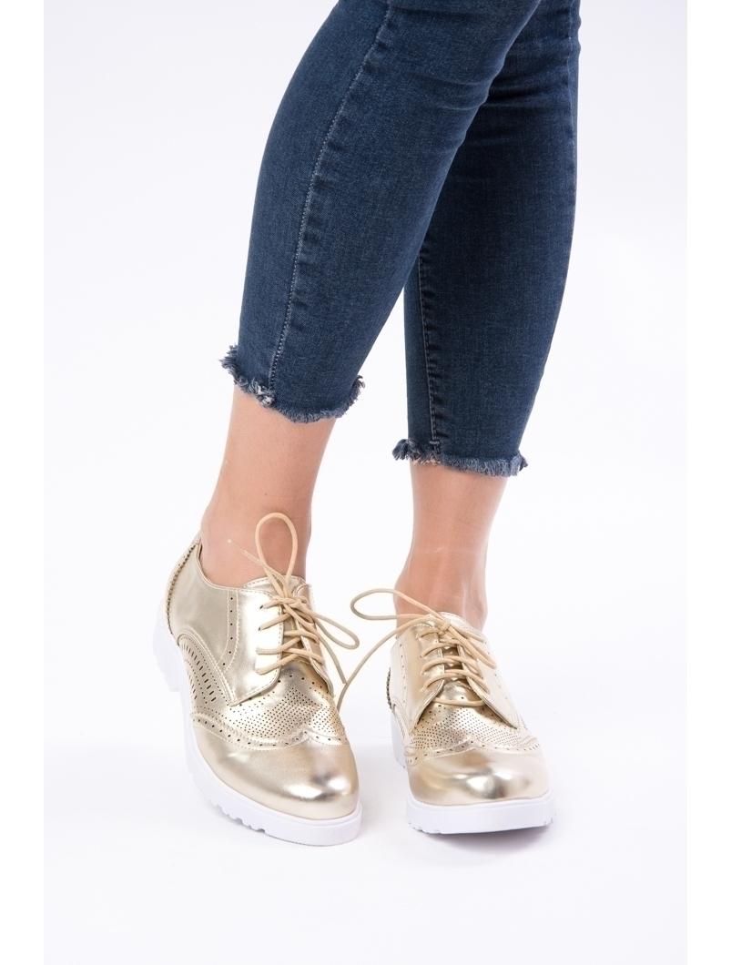 Pantofi Dama Casual Lacuiti Everyday Aurii
