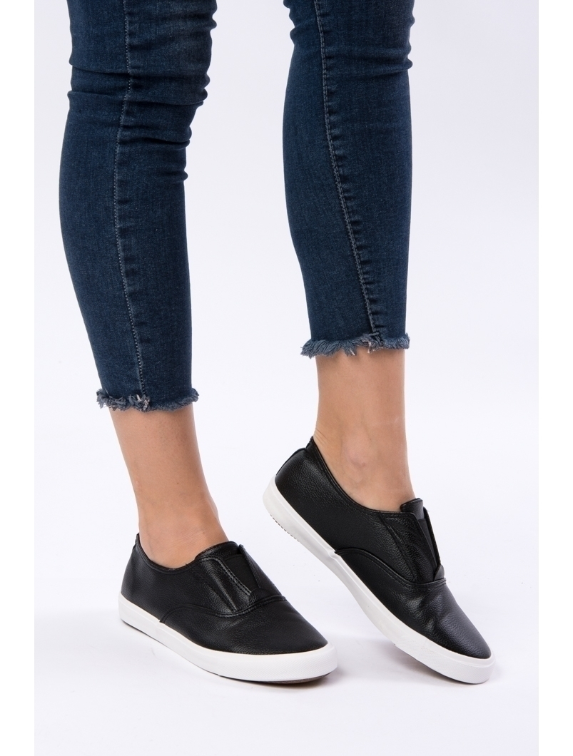 Pantofi Dama Sport Cu Elastic Running Negri